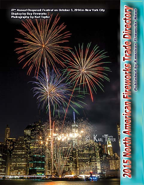 M36 pdf - 2015 North American Fireworks Trade Directory- Buyers' Guide as a digital download in pdf format