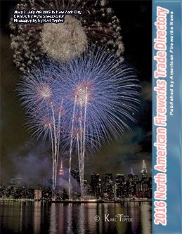 M37 - 2016 North American Fireworks Trade Directory- Buyers' Guide