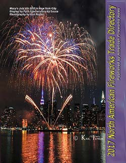 M38 pdf - 2017 North American Fireworks Trade Directory- Buyers' Guide as a digital download in pdf format