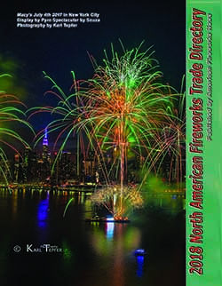 M39 - 2018 North American Fireworks Trade Directory- Buyers' Guide