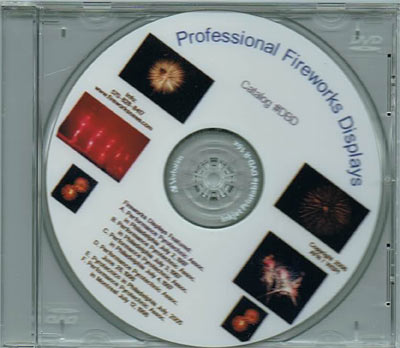 DBD - Professional Display Fireworks Shows DVD