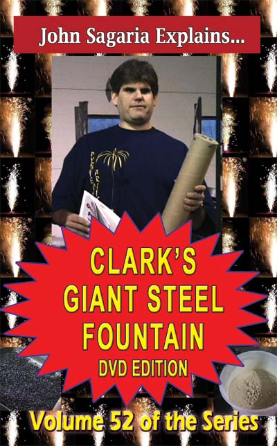 D9y - Clark's Giant Steel Fountain DVD / Sagaria