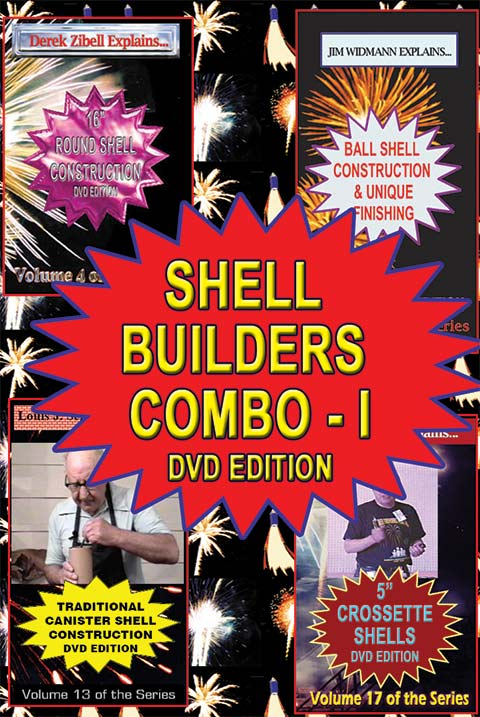C_DSH - 4-up Shell Builders I DVD combo