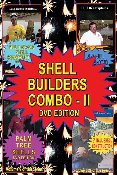 C_DSL - 4-up Shell Builders II DVD combo