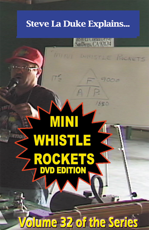 D9e - Mini Whistle Rockets DVD / La Duke