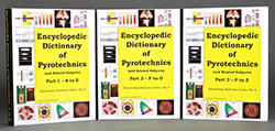 JEDPC - JOP Encyclopedic Dictionary of Pyrotechnics Book Color