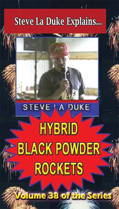 D9k - Hybrid Black Powder Rockets DVD / La Duke