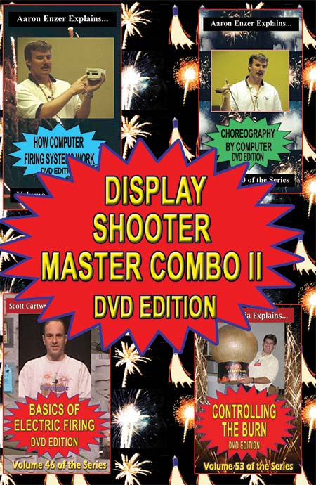 C_DDS2 - 4-up Display Shooter Master II DVD combo