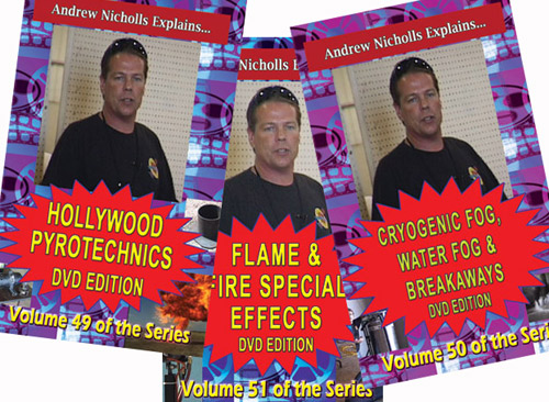 C_DVWX - Hollywood Special Effects DVD combo