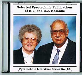 K1-8 - Selected Pyrotechnic Publications of K. L. & B. J. Kosanke  Parts 1-8