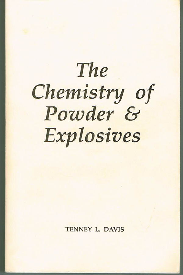 B29 - Davis / Chemistry of Powder & Explosives