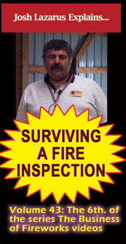 D9p - Surviving a Fire Inspection DVD / Lazarus