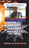 D8x - White Strobe Rockets DVD / La Duke