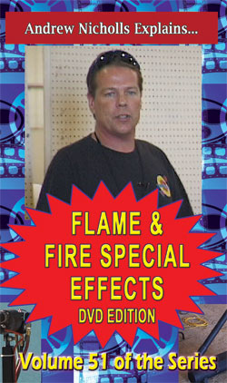 D9x - Flame & Fire Special Effects DVD / Nicholls