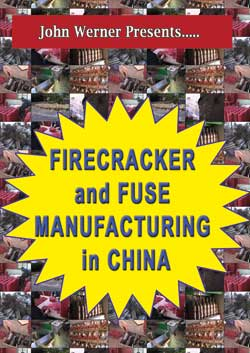 DW1 - Firecracker & Fuse Mfg in China DVD