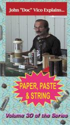 D9c - Paper, Paste & String DVD / Vico