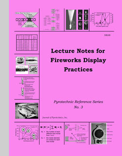 LN3 - Lecture Notes for Fireworks Display Practices by JOP