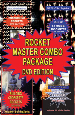 C_DRK - 4-up Rocket Master DVD combo