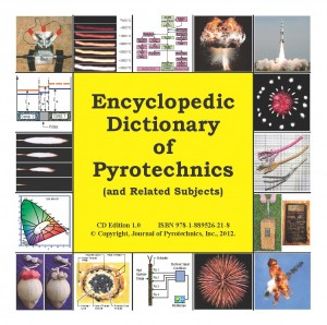 JEDCD - JOP Encyclopedic Dictionary of Pyrotechnics CD